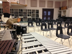I miss being in a band room!