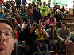 A GREAT high school assembly!