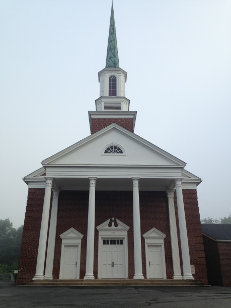 That's a big steeple