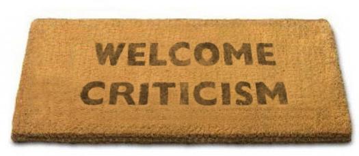 welcome-criticism-develop-thicker-skin